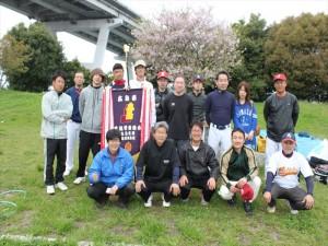 4月行事写真「地区対抗ソフトボール大会」10