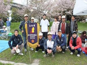 4月行事写真「地区対抗ソフトボール大会」12