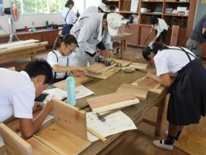 山田 木工教室12