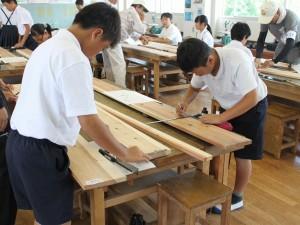 山田 木工教室7